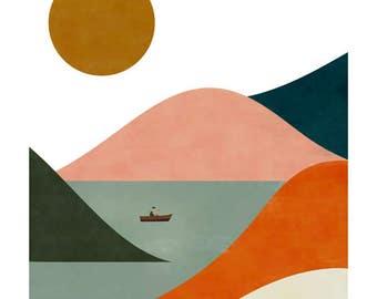 El barquero big print