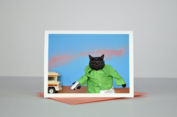 AC is the Danger Greeting Card