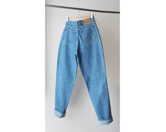 1980s Levi's Gold Medallion High Waist Baggy Denim Jeans