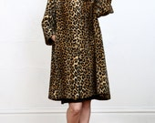 ON HOLD 60s Leopard Print Swing Coat
