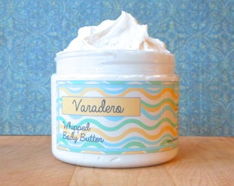 Varadero Whipped Body Butter - White lily, saltwater, verbena, clean laundry
