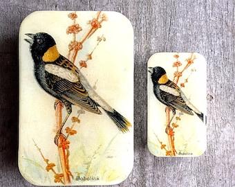 Bird tin SMALL,  Notions tin