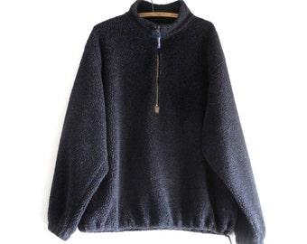 PENDLETON fleece 90s pullover UNISEX sz. XL