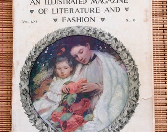 The Delineator:  Beautiful 1903 Magazine by Butterick Publishing Company, R