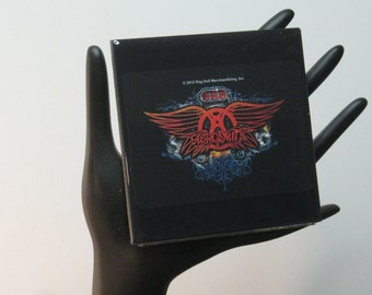 Aerosmith Limited Edition Collector Card Drink Coaster