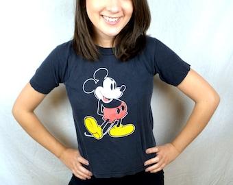 Classic Vintage Mickey MousemXS Kids Tee Shirt Tshirt