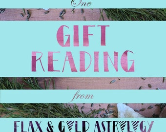 Astrology Reading Gift Certificate - Flax and Gold