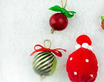 Christmas Ornament Set for Interactive Christmas Tree Holiday Dress Accessory