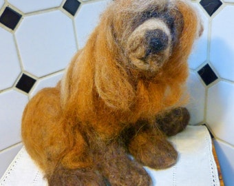 Needle Felted Bear by Naure Bausch