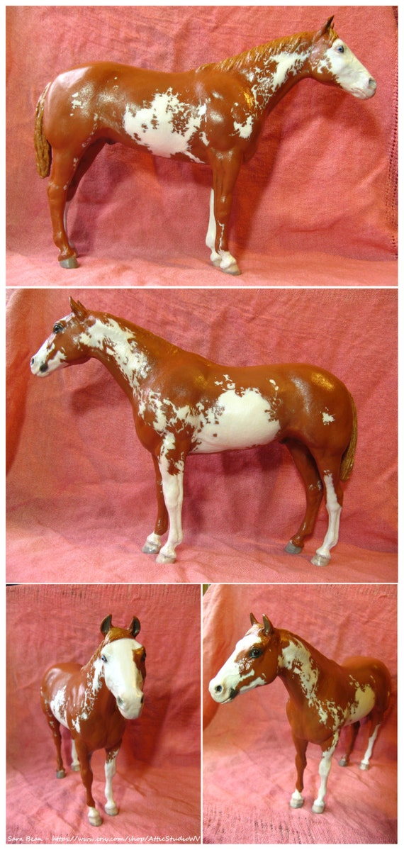 MADE TO ORDER Custom 9 Inch Breyer Horse Figure, Made to Your Specifications, ooak Traditional cm Dream Horses, Customized Portrait Model