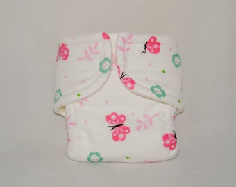 Baby Doll Diaper - Little Butterfly - Size Large