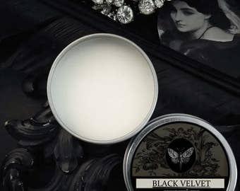 Black Velvet Natural Solid Perfume Gypsy Apothecary Black Tea,Vetiver,Cocoa,Champa Flower,Black Pepper,Cloves,Labdanum,Jasmine,Ambrette Seed