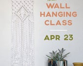 Macrame Wall Hanging Class | Sunday, April 23, 10am-Noon | The McKinley Club