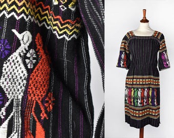 Mexican Dress with Magnificanct Embroidery || Mexican Dress || Peasant Dress || Bohohemian Dress