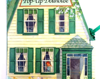 """Vintage """"Anne of Green Gables Pop Up Dollhouse"""", Paper Doll House, Paper Dolls,Anne of Green Gables Popup Book Childrens Pop Up Doll House"""