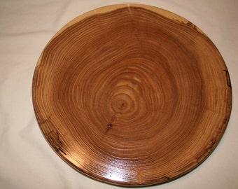 "Elm Wood Lazy Susan 14 1/2"" in diameter Item #LS145"