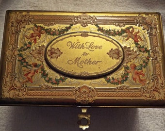 Artstyle With Love to Mother Cherub tin