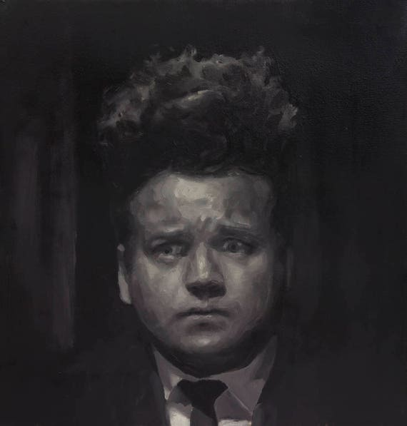 Eraserhead, Original Oil Painting