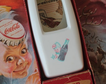 Vintage 1950's Coca Cola Sprite Boy Bottle Opener Vintage Starr Coca Cola Bottle Opener with Cap Catcher Vintage Coca Cola Advertising