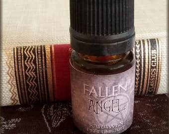 FALLEN ANGEL Perfume Oil / Gothic perfume cologne oil / vegan handcrafted perfume / Gothic angel