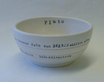 Pluto Porcelain Bowl