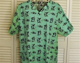 Scrub Top, Funny Scrub Top, Nurse Gag Gift, Womens novelty Shirt, Fleet Enema Shirt, Hospital Scrubs, Medical Scrubs, US Size Medium M