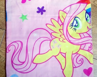 My little pony cushion, character cushion, fluttershy pillow, kids gift idea, stocking filler, mothers day