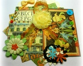 Graphic 45 Artisan Style Inspiration Kit, Project Life Kit, Embellishment Kit for Scrapbooks Cards Mini Albums Tags and Paper crafts