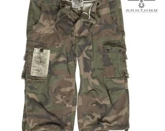 W/L Prewash Air Combat 3/4 Pants