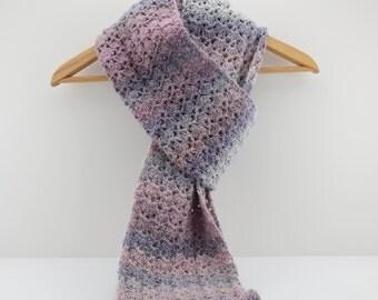 Extra Long Handmade Crochet Scarf