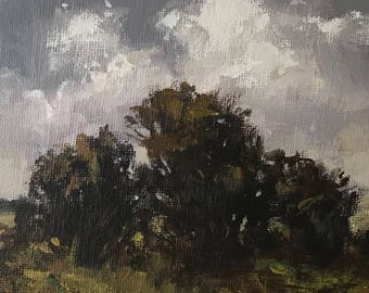 Related - 5x5 inches - ORIGINAL Landscape Painting