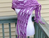 Reserved for Joy Lynne Foss -Orchid Xlong Mesh Scarf Shawl