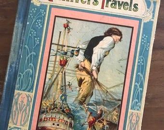 Gulliver's Travels - antique book