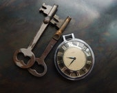 Steampunk pocket watch skeleton keys supply parts