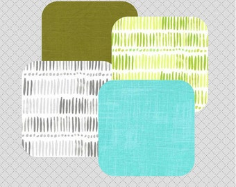Baby Curtains for Nursery - Green - Baby Curtains - Custom Drapes