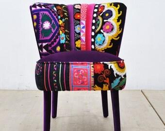 50's Clubchair - purple