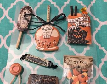 NEW Jolee's Boutique Halloween Vintage Treats Dimensional Stickers/ scrapbooking/ destash/ card making/ altered art/ planner/journal