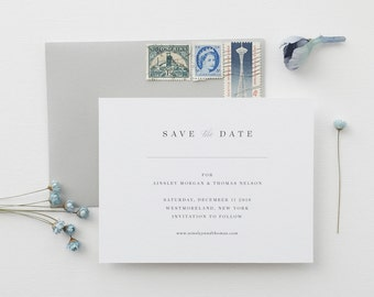 Ainsley Wedding Save the Date - Sample