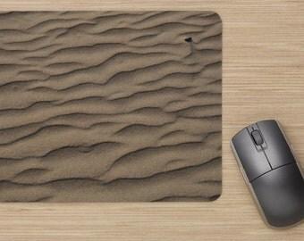 Mouse Mat, Sand Mouse Pad, Mousepad, Beach Mouse Mat, Sand Mouse Mat, Desk Accessories, Ripples
