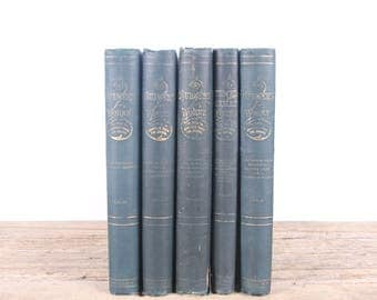 Late 1800's / The Dramatic Works of Bulwer's Works Books / Old Books Vintage Books / Decorative Books / Edward Bulwer Lytton / Antique Books