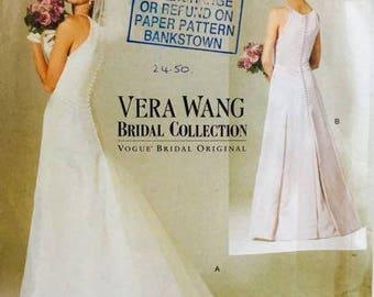 Vogue Vera Wang Bridal Collection 2118