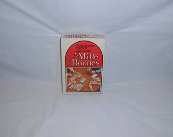 Parker Brothers French Game MILLE BORNES Vintage 1971 Ages 8-Adult