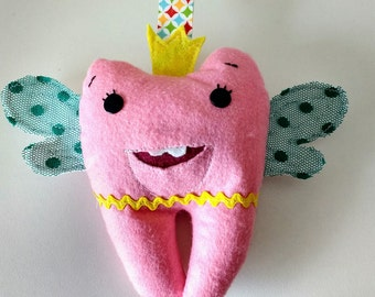 Tooth pillow, Tooth fairy