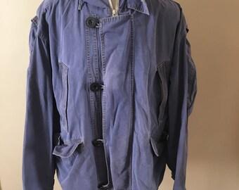 Vintage Banana Republic Safari Hooded Jacket Adventure Outfitters Size Medium M