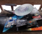 Pop Up Three Dimensional STAR TREK ALBUM These are the Voyages by Charles Kurts  very cool well set up book