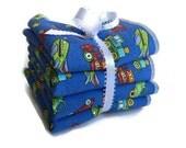 Baby Wash Cloths - Children's Wash Cloths - Boys Wash Cloths - Wash Rags - Wash Cloth Sets - Facial Cloths - Baby Bath Set - Gifts For Kids