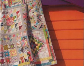 Long Time Gone Quilt Pattern Book by Jen Kingwell Designs