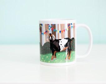 Goat Coffee Mug / A Woodland Party / 11oz Coffee Mug