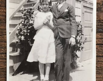 Original Vintage Photograph Young Love 1935