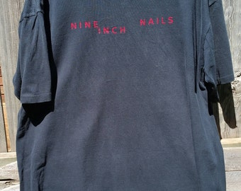 Vintage Nine Inch Nails Used TShirt